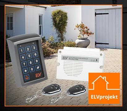 Funk-Zugangssteuerung in Homematic IP Alarmsystem einbinden