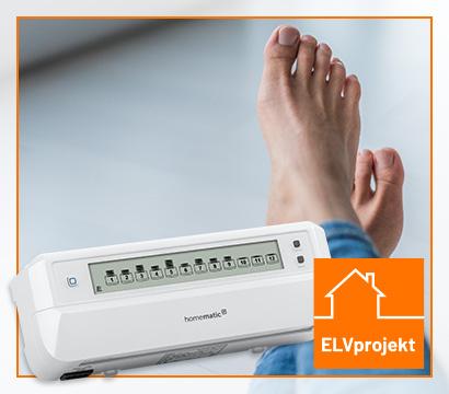 Ihre komfortable Fußbodenheizung mit Homematic IP
