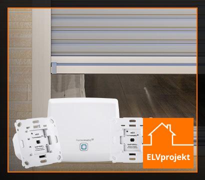 Rollladensteuerung mit Homematic IP umsetzen
